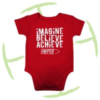 BATTLE CRY BABYGROW RED