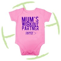 BATTLE CRY BABYGROW PINK