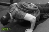 hardcore weighted press-ups... really?