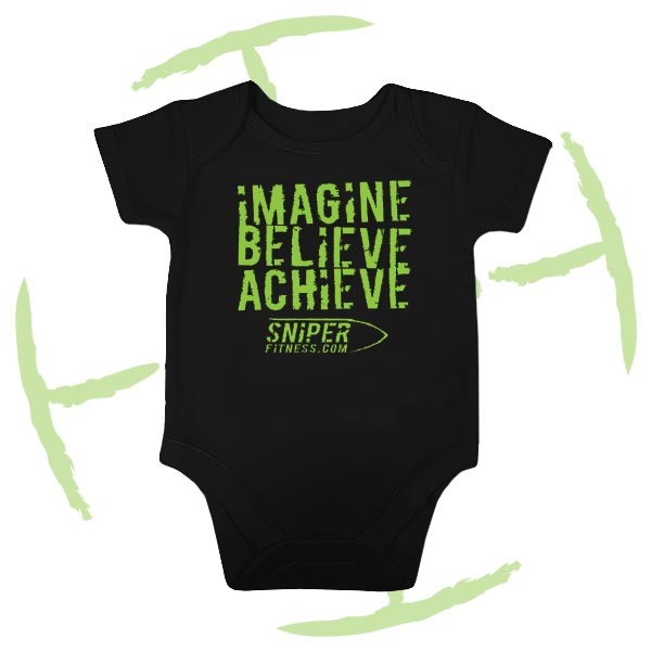 BATTLE CRY BABYGROW BLACK
