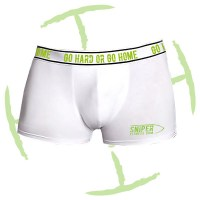 BATTLE CRY BOXERS - WHITE