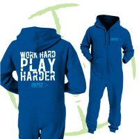 BATTLE CRY ONESIE - BLUE