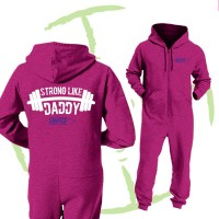 BATTLE CRY ONESIE - PINK