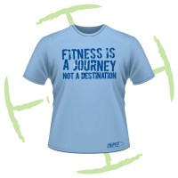 fitness is a journey - front